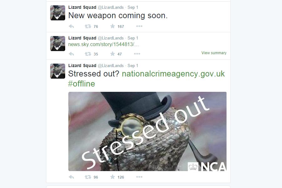 توییتهای جدید نشان می دهد که جوخه مارمولک بر گشته است